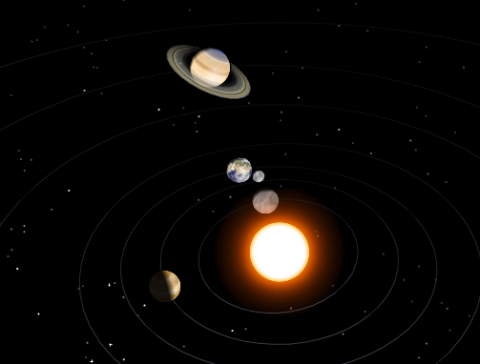 Awe Inspiring Interactive 3d Model Of The Solar System