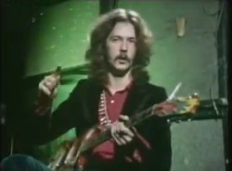 23yearold eric clapton demonstrates the elements of his