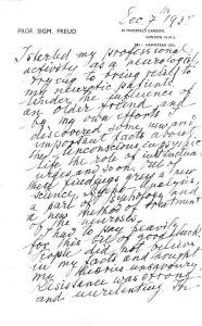 Freud BBC Manuscript 1