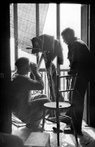 Ernest Hemingway & Joris Ivens