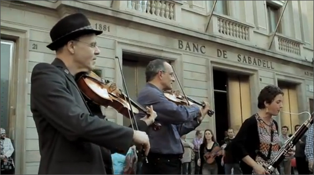 Beethoven S Quot Ode To Joy Quot Movingly Flashmobbed In Spain
