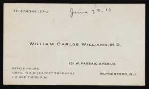 williams business card