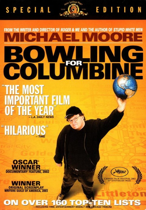 the dangers of firearms in the documentary film bowling for columbine by michael moore Bowling for columbine is a 2002 documentary film written and produced my michael moore that investigates possible reasons as to why gun violence continues to perpetuate in american society, and moore accomplishes this by concentrating on the columbine high school massacre that occured in littleton, colorado.