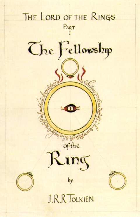 The Fellowship Of The Ring Book Cover by JRR Tolkien_1-480