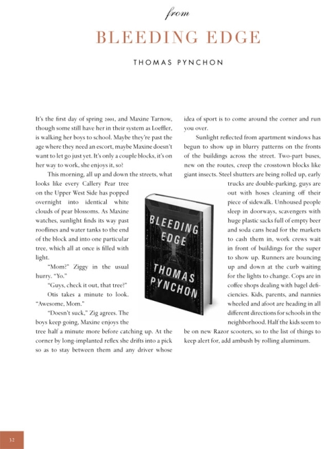 Pynchon first page