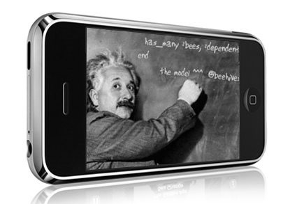 iphone einstein