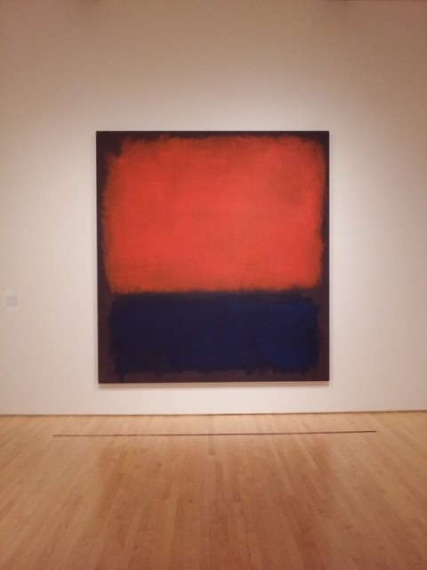 Sfmoma Red Painting