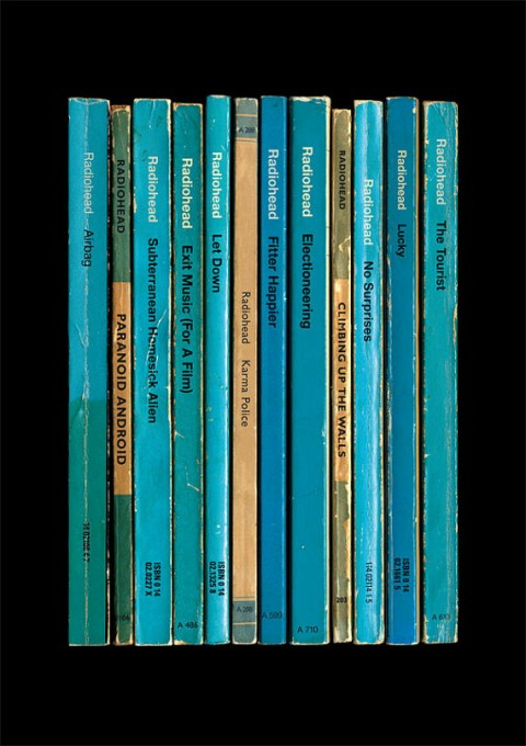 Eight Radiohead Albums Reimagined as Vintage Paperback Books | Open Culture