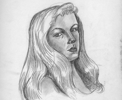 sylvia plath self portrait 2