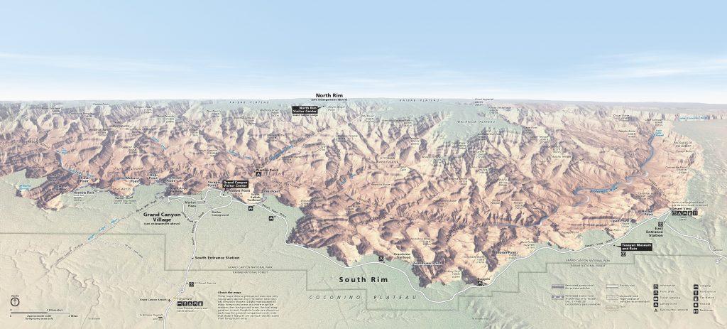 grand-canyon-south-rim-map